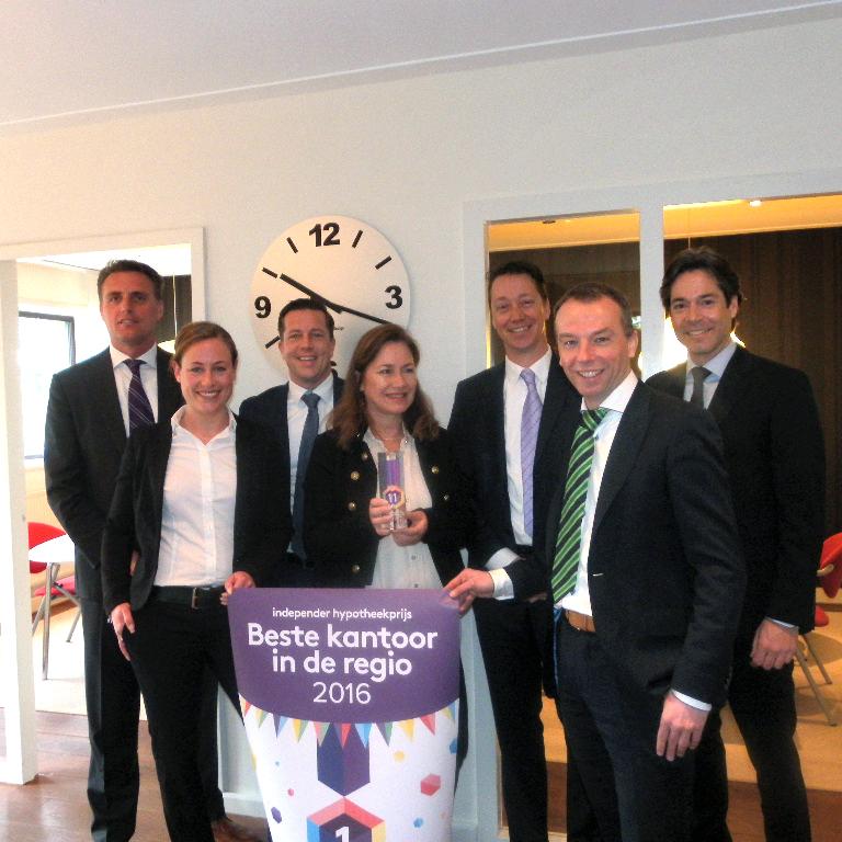 A en S Beste kantoor in de regio 2016